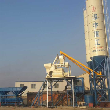 HZS autoclaved aerated batching plant setup cost