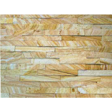 Factory Free sample for Stacked Stone 15×60cm Natural Golden Sandstone Stone Wall Cladding export to Netherlands Manufacturers