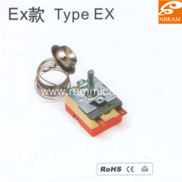 Type EX Stainless Steel Capillary Thermostat