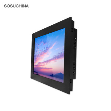 Industrial panel mount  tft lcd monitor vga