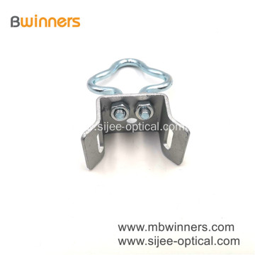 Galvanized Steel Wall Bracket for FTTH Fitting