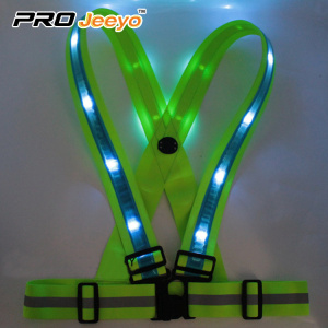 LED Flashing Lights Elastic Belt
