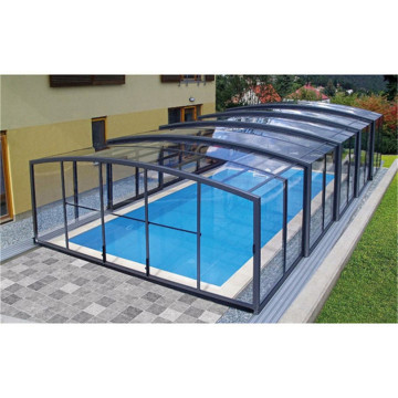 Diy Pool Cover Sunroom Aluminium Glass Roof