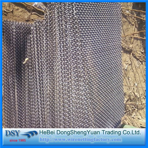 Iron Carbon Steel Crimped Mine Sieving Mesh