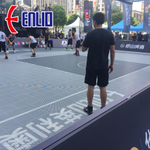 FIBA CERTIFIED OUT DOOR BASKETBALL COURT TILE