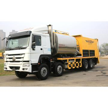 Fully automatic synchronous chip sealer chip sealing truck