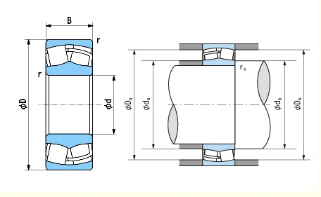 Spherical Roller Bearing Drawing