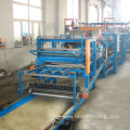 Corrugated sheet board eps sandwich panel roll forming machine