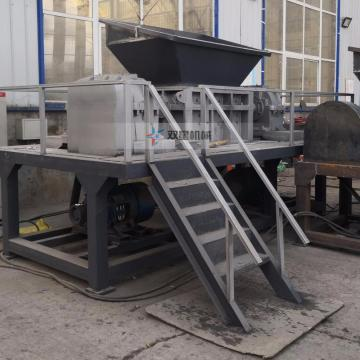 Large Scrap Waste Tire Shredder Equipment