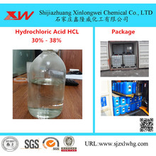 Quality for Water Treatment Chemical Dosing Muriatic Acid 33% HCL For Textile Industrial export to France Importers