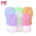 Custom Printing Silicone Travel Squeeze Shampoo Bottle Set
