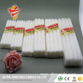 Cellophone Packed 45g White Wax Candle