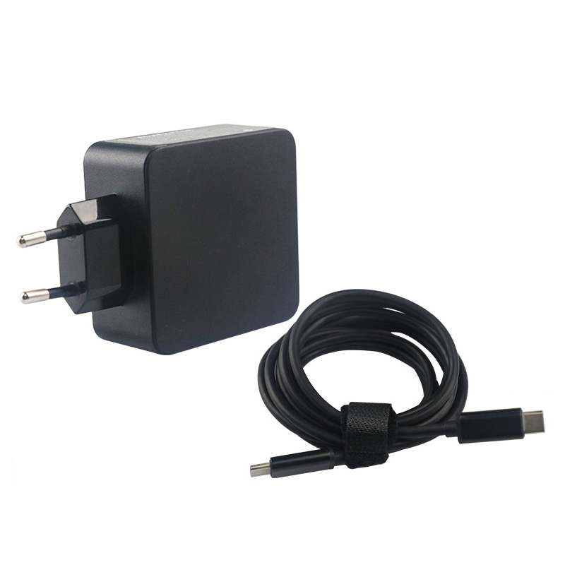 Wall Adapter 45W 65W USB-C PD Charger