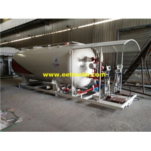 20000L 10ton Skid Mounted Propane Filling Stations