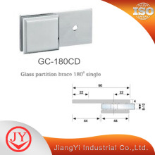 High Quality for Glass Shelf Clamps 180 Degree Glass to Wall Glass Clamp supply to Japan Exporter