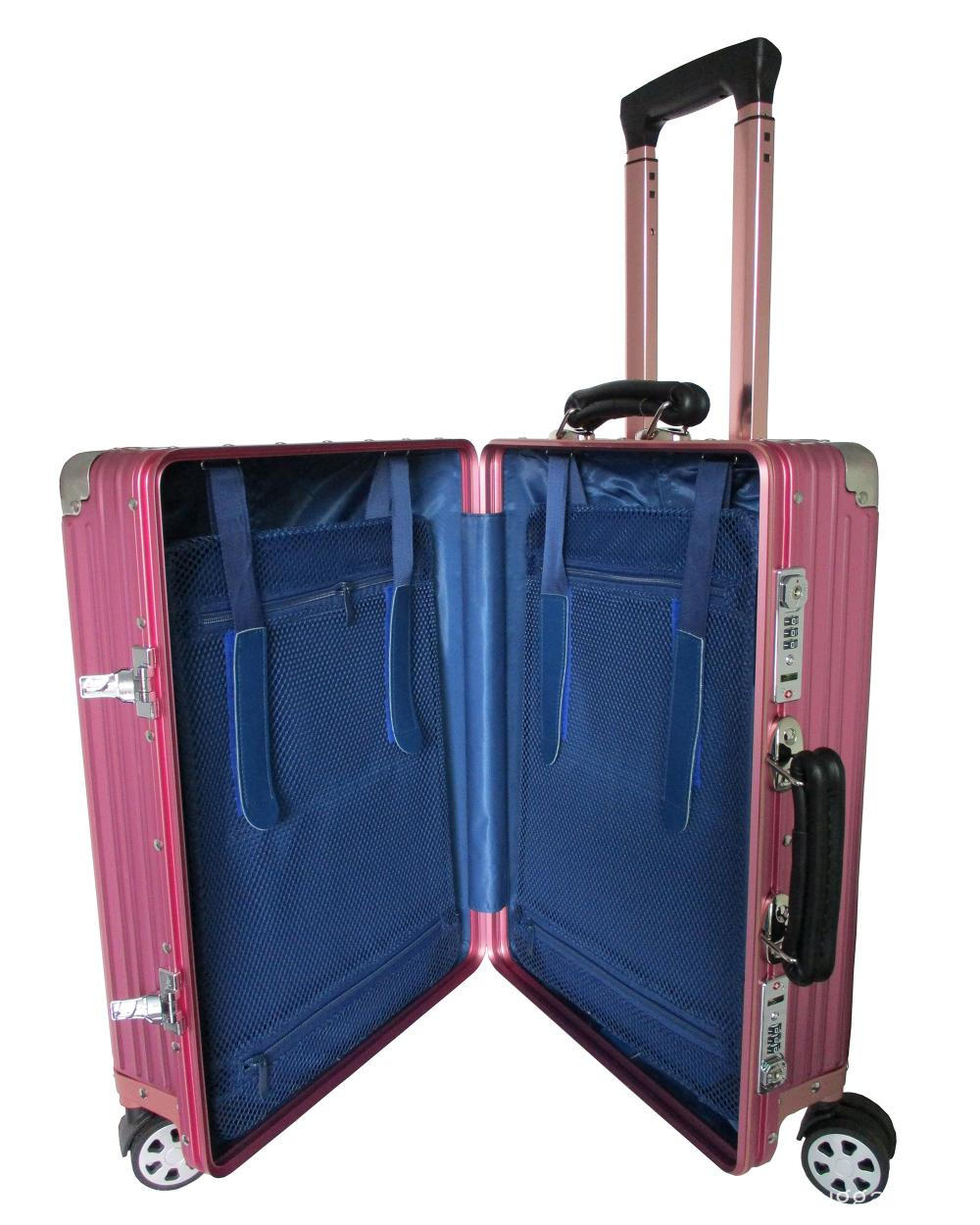 Aluminum alloy luggage suitcase