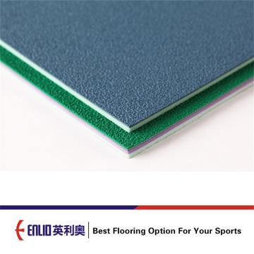 Badminton Court Mat Pvc Sports Flooring BWF CERT.