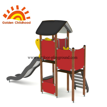 HPL Red Outdoor Playground Tower for Children