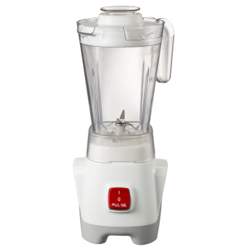 Quality food blender with thick plastic jar