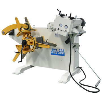 Compact Decoiler Cum Straightener Machine
