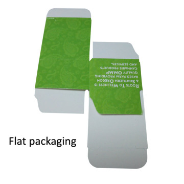 paper printing custom size box sample packaging