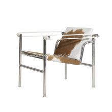 Le Corbusier LC1 Basculant Leather Chair