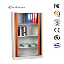 Metal tambour door cupboard cabinet