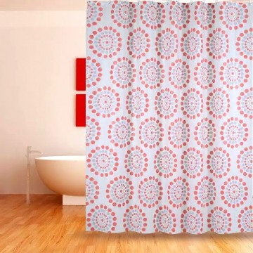 Hot-selling attractive for China Shower Curtain Peva,Peva Shower Curtain,Clear Shower Curtain Supplier Shower Curtain PEVA Classic Ring export to Guinea Factories
