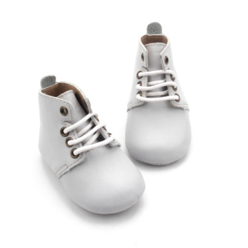 Wholesale Leather Baby Soft Sole Toddler Oxford Shoes