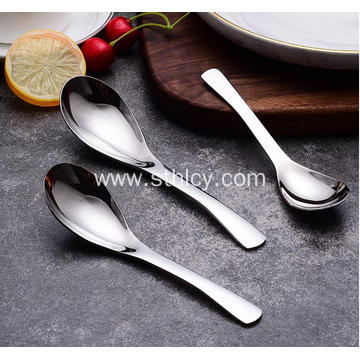 304 Stainless Steel Tableware Spoon