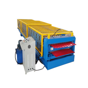 IBR and Corrugated Metal Panels Roll Forming Machine