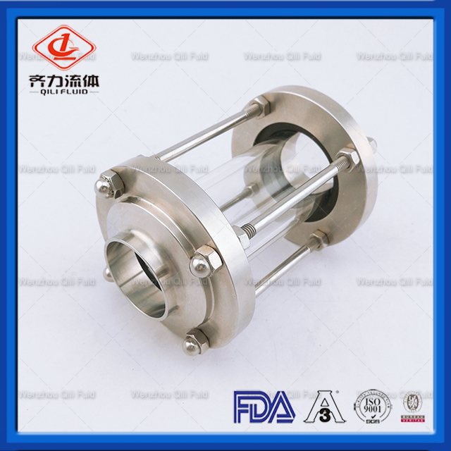 Weld/Thread/Clamp Sight Glass