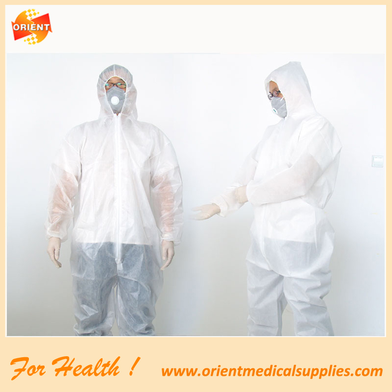 Disposable protective clothing Clean clothes visit coat