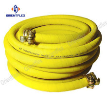 3/8 black  braided wrapped robust air hose