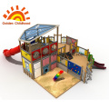 Indoor Or Outdoor Playground Equipment Combination