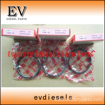 KUBOTA engine piston D1005 Piston ring