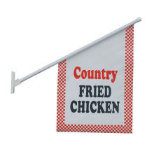 Water Proof Promotional Front Porch Wall Flags Signs