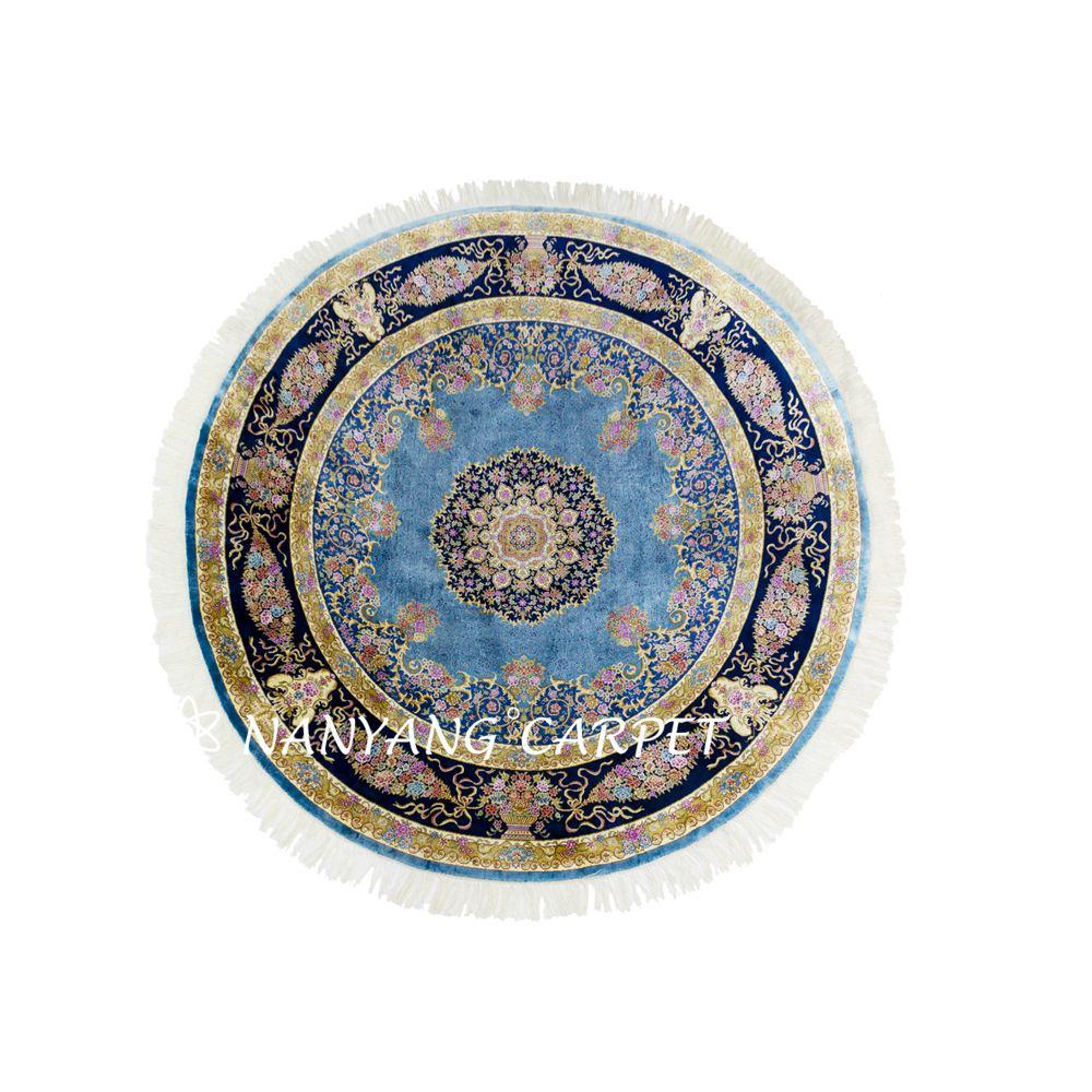 6x6 Iranian Tabriz rug