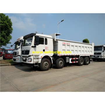 SHACMAN 336hp Sand Carrying Tipper Trucks