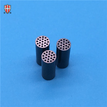 black zirconia porous ceramic tube filter