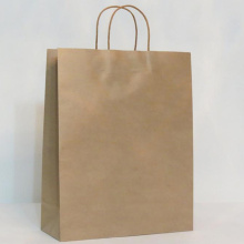 Customized for Luxury Design Printed Packaging Bag Eco-friendly Recyclable Luxuy High Quality Kraft Paper Bag export to South Korea Wholesale