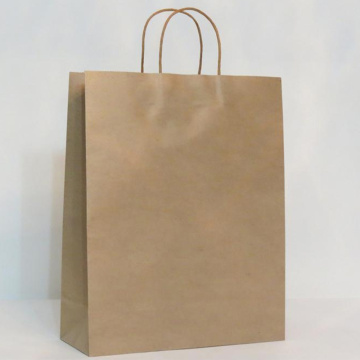 Luxury Recycled Custom Printing Brown Kraft Paper Bag