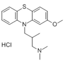 10H-Phenothiazin-10-propanamin, 2-Methoxy-N, N, b-Trimethyl-, Hydrochlorid (1: 1), (57279218, bR) - CAS 1236-99-3
