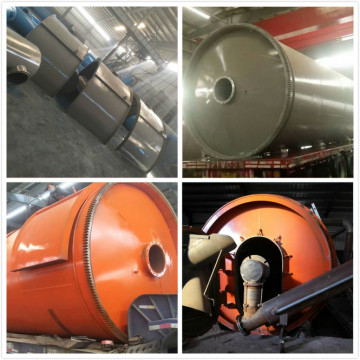 fuel from waste tyres pyrolysis equipment