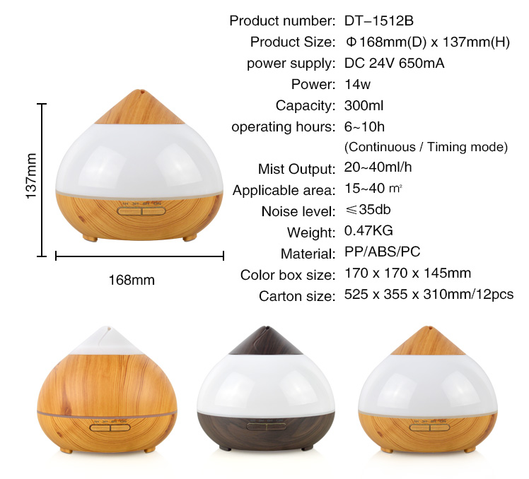 Electric Diffuser Essential Oils