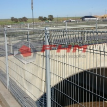 Galvanized Decorative BRC Fence of Welded Wire