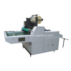 ZXMB-720B semi-auto laminating machine for both thermal and glueless film