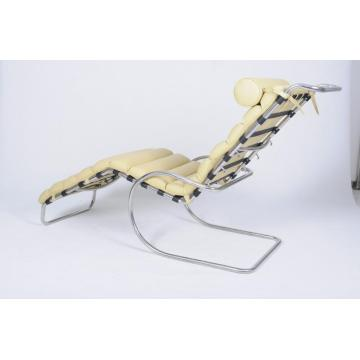 Leather MR Adjustable Chaise Lounge Chair