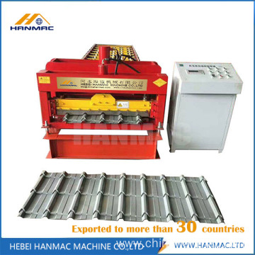 The Best Glazed Tile Roof Roll Forming Machine