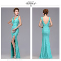 long dress party bridesmaid dress